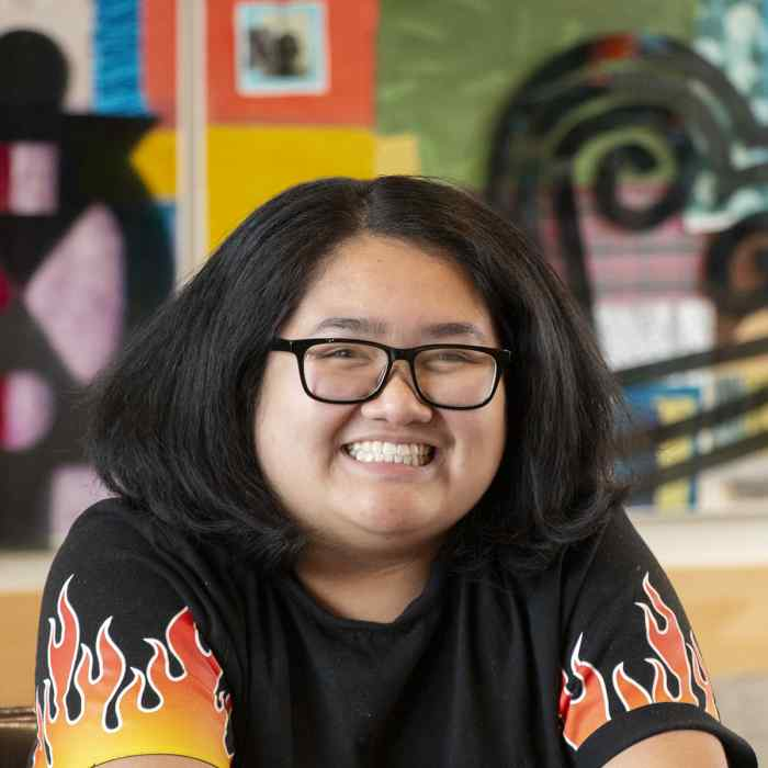 Haley Vien is a Macalester College Bonner Scholar and works with Wilder's Youth Leadership Initiative
