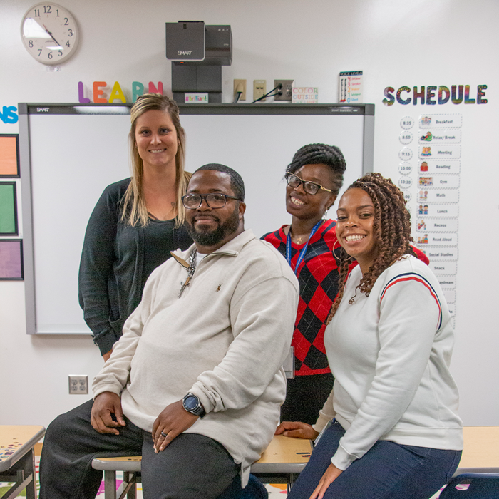 Therapeutic Teaching Model brings Wilder School-Based Mental Health Therapists into classrooms at Intermediate School District 287 in New Hope, Minnesota