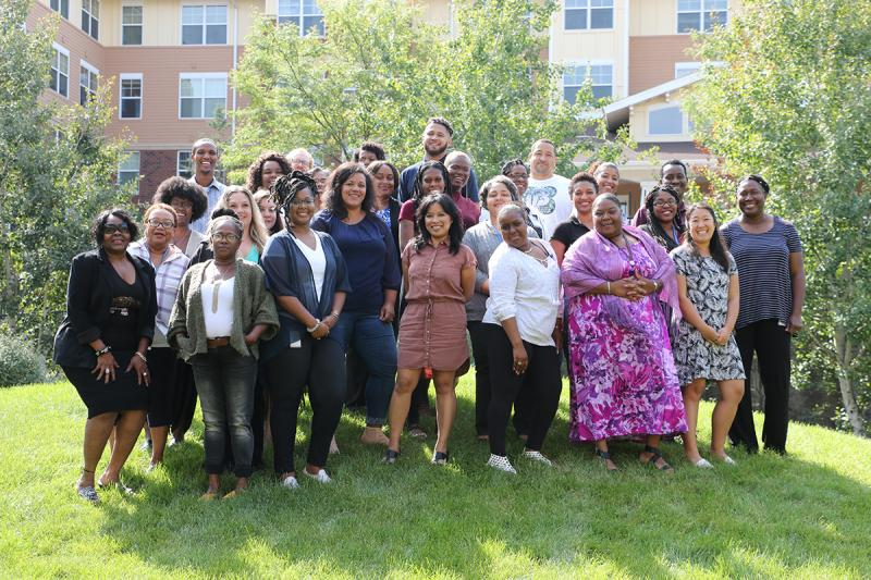 nonprofit professionals of African descent, Ujima Wilder employee resource group members