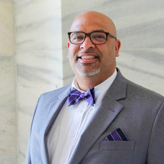 Chris Taylor, chief inclusion officer in Minnesota governor's office and graduate of Wilder's James P. Shannon Institute