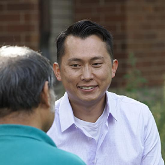 Derrick Yang, certified peer specialist for Wilder Community Mental Health and Wellness