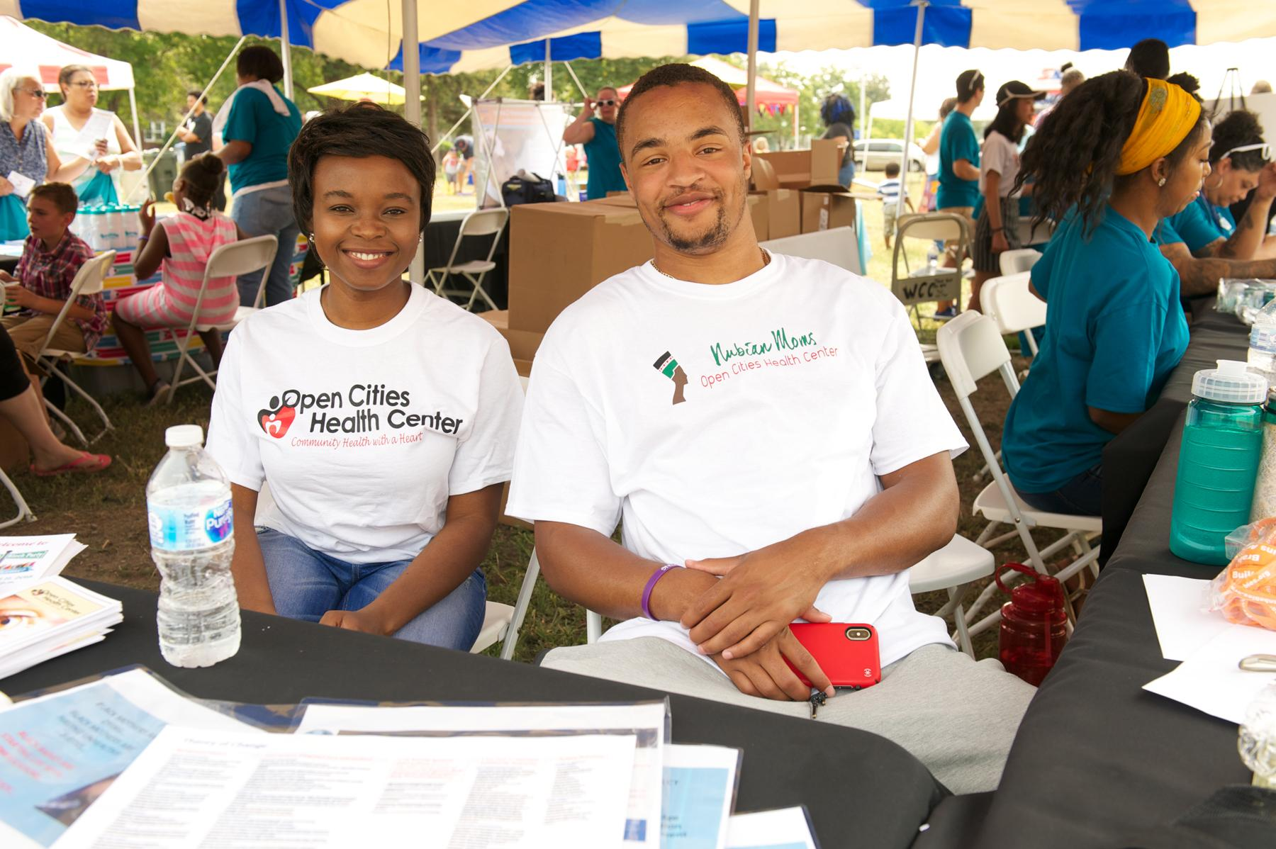 Open Cities Health Center at Wilder Block Party 2018 in Saint Paul, MN