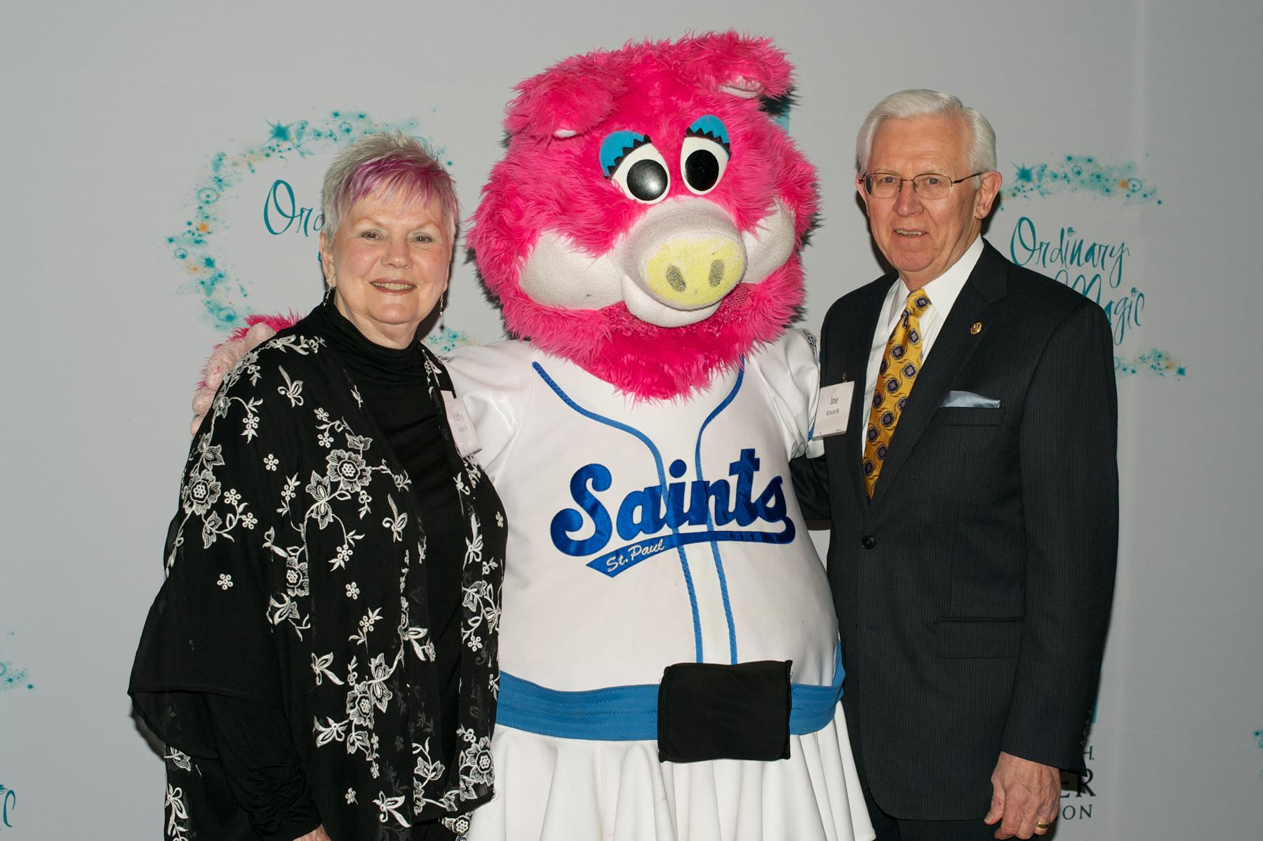 Mudonna of the Saint Paul Saints at Wilder's Ordinary Magic in Saint Paul