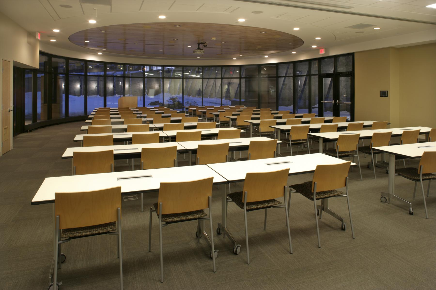Wilder Center's main auditorium is perfect for large capacity conferences.