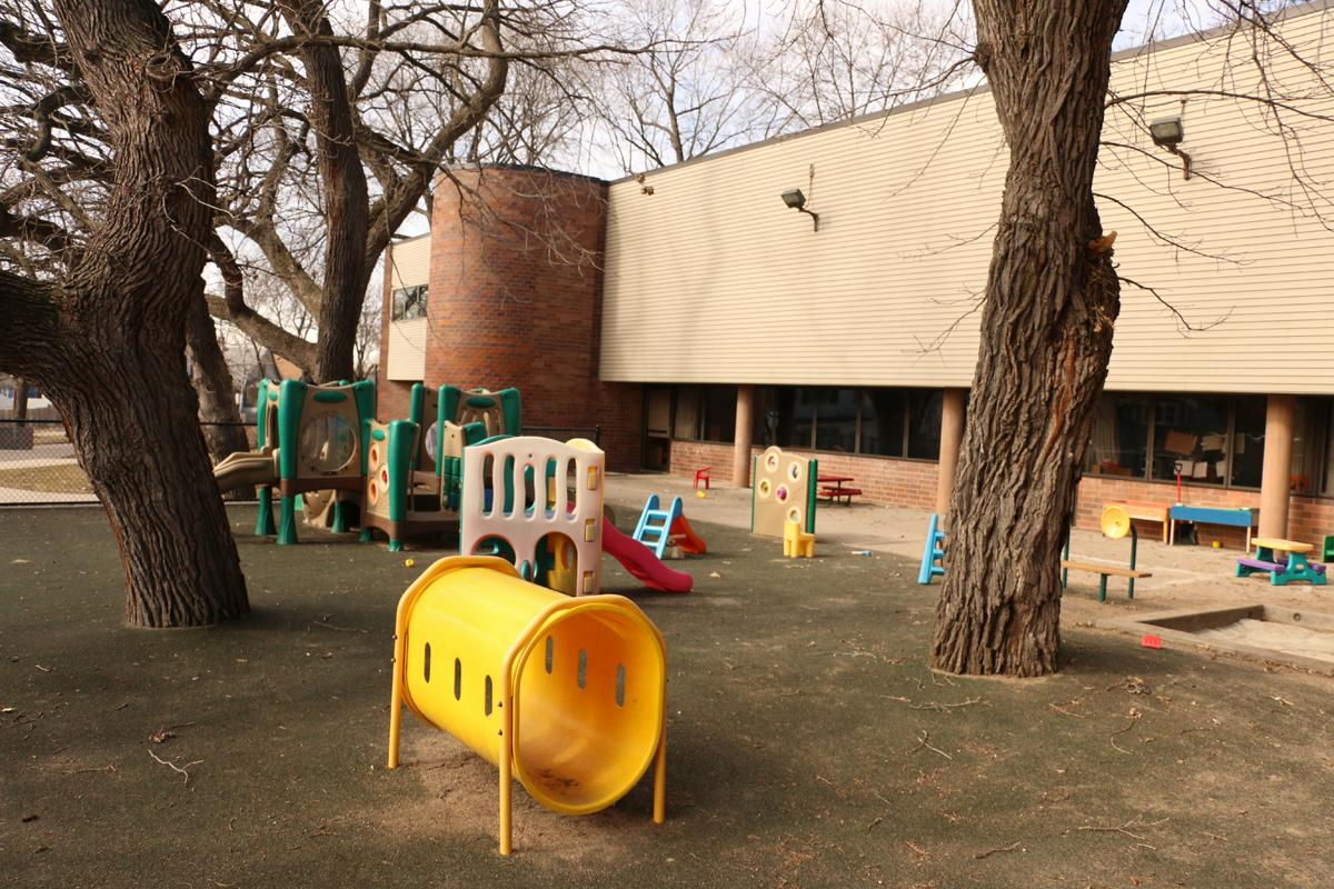 Wilder Child Development Center offers two playgrounds for children