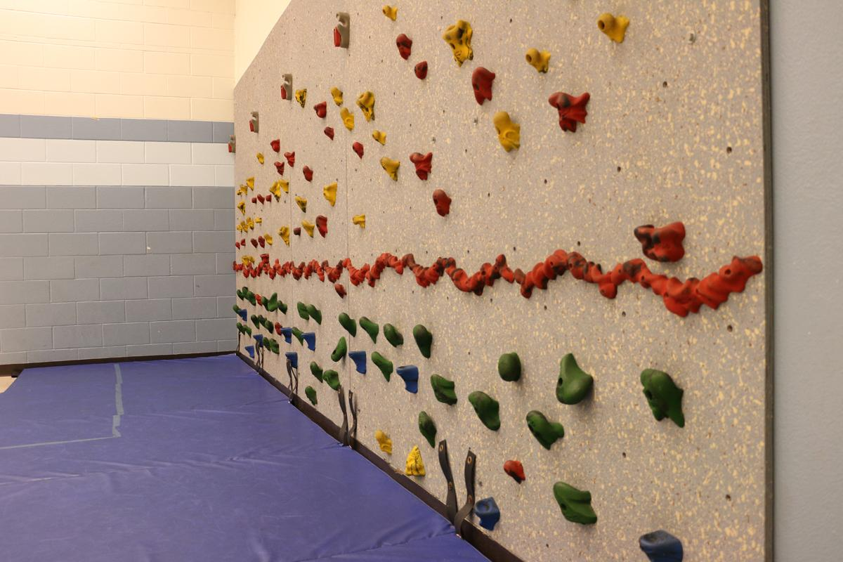 Wilder Child Development Center climbing wall