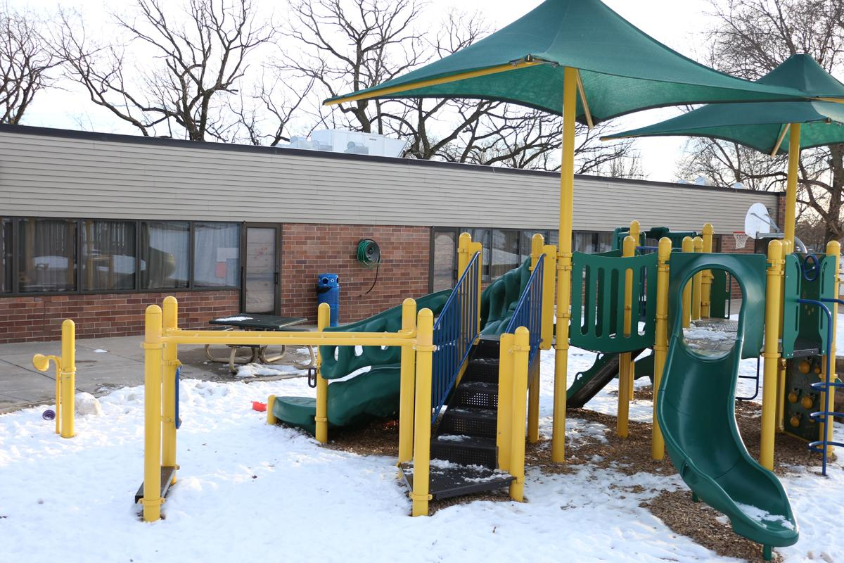 Two playgrounds are available at Wilder Child Development Center.