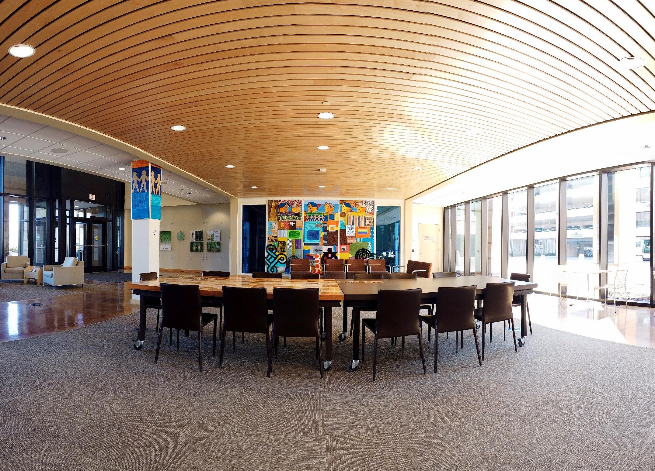 Wilder Center Main Reception Lobby