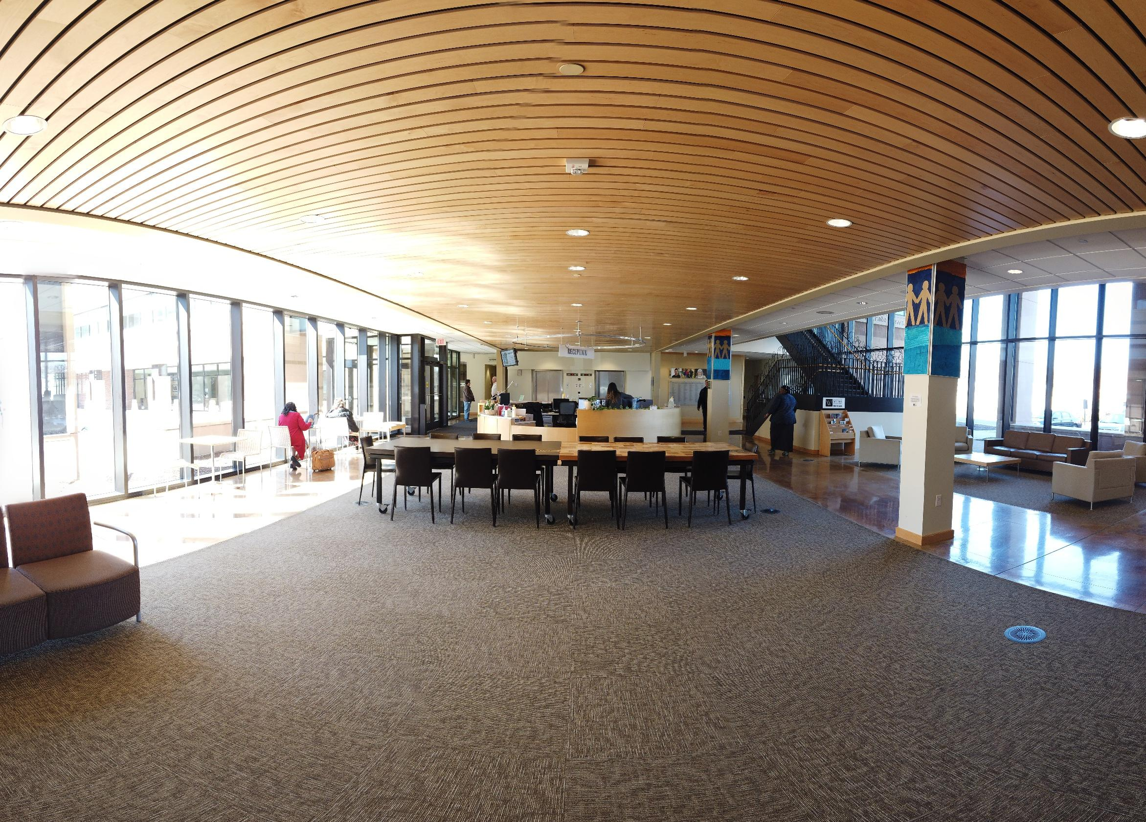 Wilder Center Main Reception Area