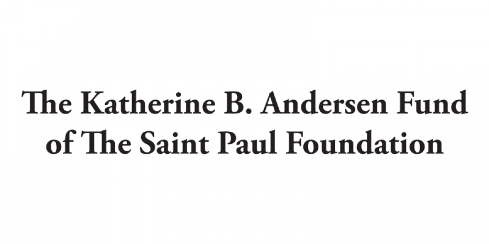 The Katherine B. Andersen Fund of The Saint Paul Foundation, a sponsor of Wilder's 2019 Ordinary Magic
