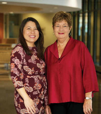 MayKao Y. Hang, Wilder President and CEO, Julie Brunner, Wilder Board Chair
