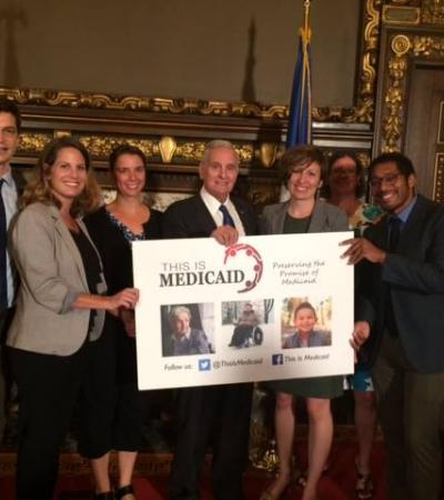 This is Medicaid Group with Governor Dayton