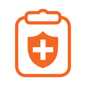 Health Insurance Coverage and Payment Icon