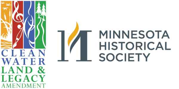 Clean Water Land & Legacy Amendment and Minnesota Historical Society logos