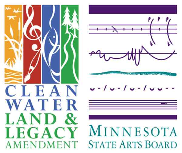 Clean Water Land and Legacy Amendment Logo and Minnesota State Arts Board logo